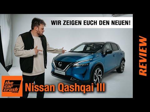 Nissan Qashqai III (2021) Wir zeigen euch den NEUEN! 🤫 Review | Test | Sitzprobe | Preis | e-Power