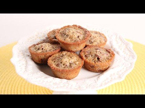 Pecan Pie Mini Muffins Recipe – Laura Vitale – Laura in the Kitchen Episode 981