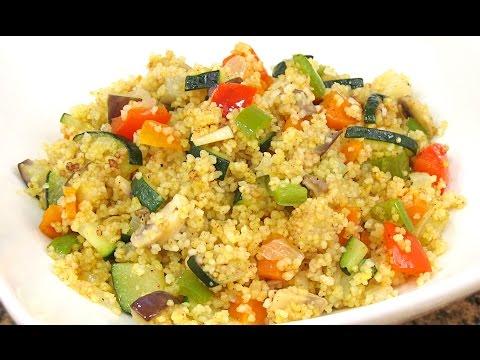 Cous cous con Verduras | Receta Fácil y Rápida!!