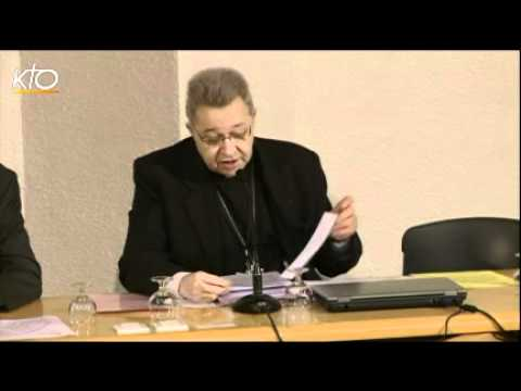 Ouverture de l'Assemblée plénière de Printemps des évêques à Lourdes