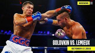 "DAZN REWIND   Gennadiy ""GGG"" Golovkin vs. David Lemieux"