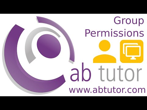 Restricting groups with AB Tutor v9