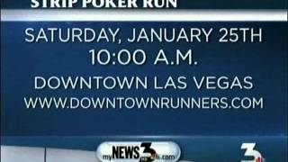 Downtown Runners Interviews With News 3 Las Vegas About The Strip Poker Run