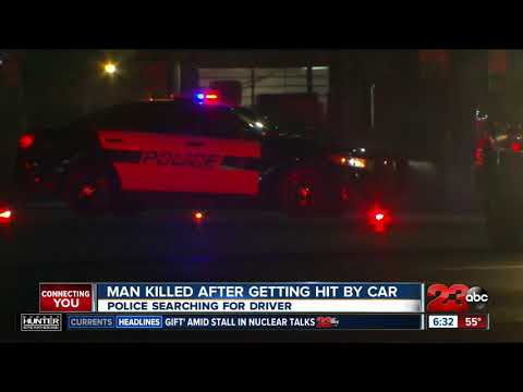 Man killed after getting hit by car