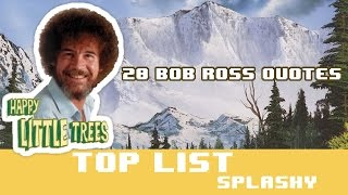 20 Bob Ross Quotes From Joy Of Painting - How To Be Happy By Bob Ross
