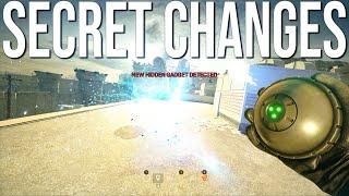 Testing Hidden Changes In Crimson Heist TS - Rainbow Six Siege Crimson Heist