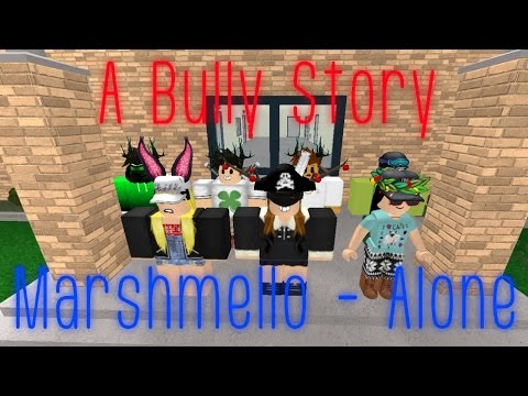 ROBLOX BULLY STORY - Marshmello Alone