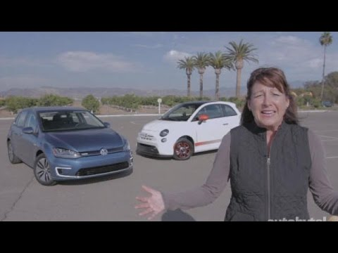 EV Comparison Test Video: FIAT 500e vs. Volkswagen e-Golf
