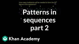 Patterns in Sequences 2