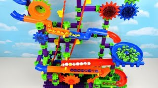 Aprende Colores con Juguete Tobogán de Bolas y Canicas! Juegos Infantiles Marble Maze