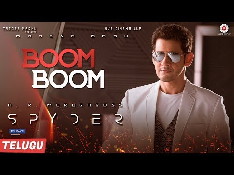 Download Boom Boom (Telugu) - Spyder | Mahesh Babu & Rakul Preet Singh | AR Murugadoss | Harris Jayaraj HD Mp4 3GP Video and MP3