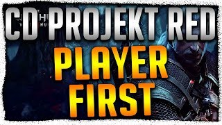 CD Projekt Red Teaching AAA Developers How Games Should be Made, Player First