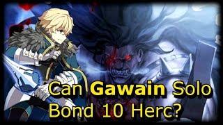 Gawain  - (Fate/Grand Order) - Gawain Solos Evil Raid Boss Hercules [FGO] [Memorial Stage]