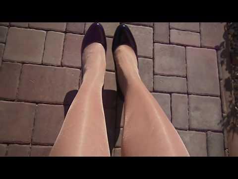 Nylon shiny legs pantyhose Bellinda Satin Sheers 20D