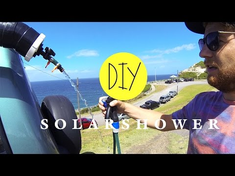 DIY - SOLARDUSCHE/ CAMPINGDUSCHE - DO IT YOURSELF - VAN LIFE