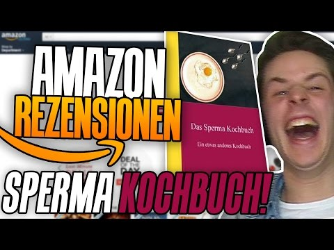 DAS SPERMAKOCHBUCH..  | AMAZON REZESSIONEN | MIT GTIME | REWINSIDE