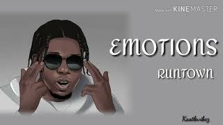 Runtown   Emotions (Lyrics)