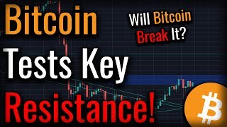 Can Bitcoin Get Through This Next Zone Of Resistance?