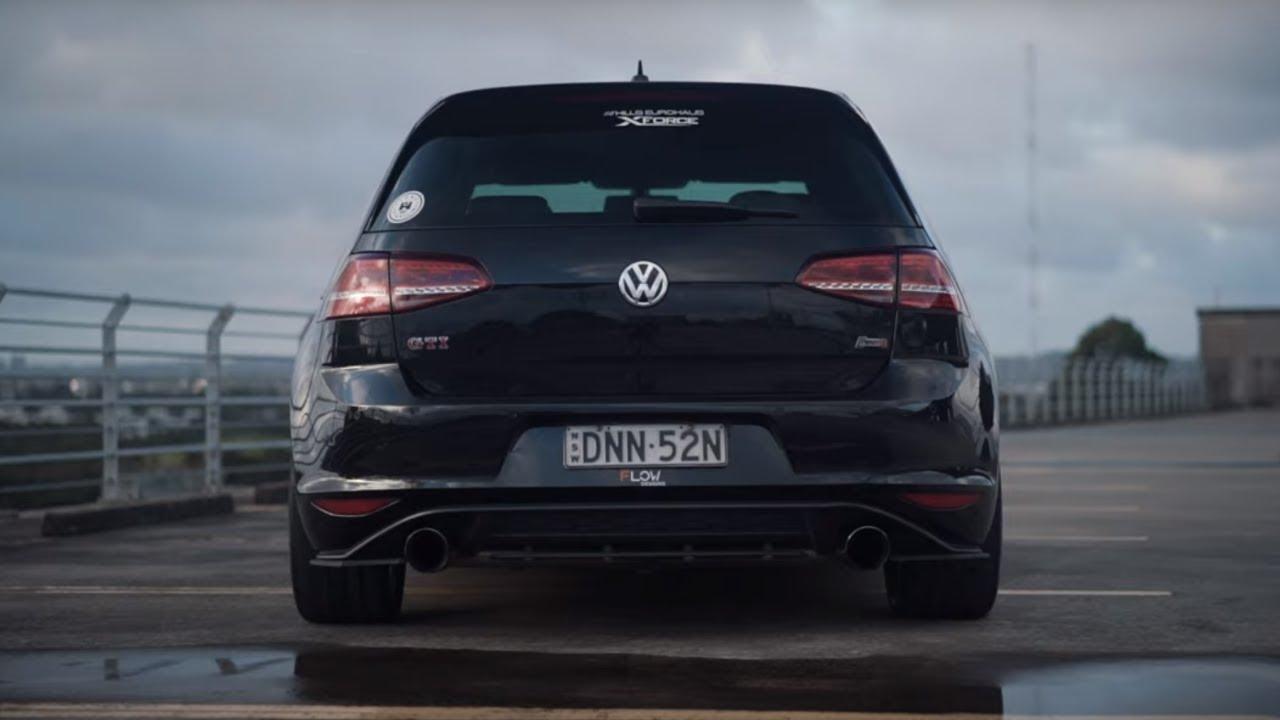 Volkswagen Golf GTi (MK7) XForce Exhaust System