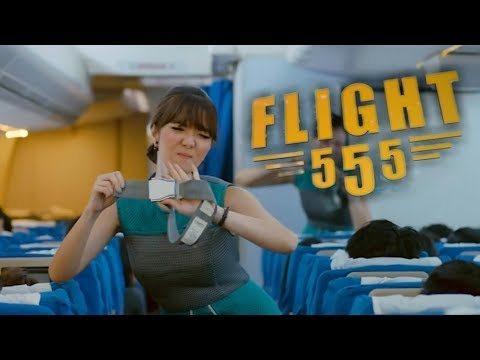 Trailer film indonesia    quot flight 555 quot   18 januari 2018