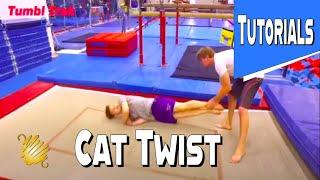 Trampoline Tutorials – How To Do Cat Twist Easy