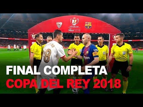 Sevilla 0-5 Barcelona COMPLETO | Final Copa del Rey 2018 | Futbol