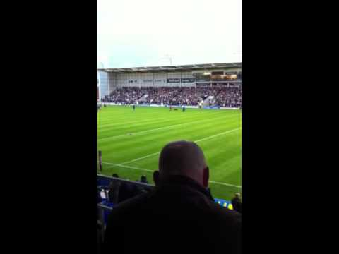 Faith Small Singing at Warrington Wolves - Just cant get enough