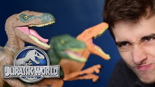 Craptors - Echo, Charlie and Delta    Jurassic World Hasbro Line