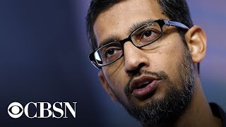 Google CEO Sundar Pichai testifies before the House Judiciary Committee