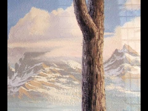 How to Paint a Tree Trunk