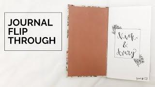 Relationship Journal Gift Flip Through