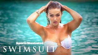 Gigi Hadid Takes You To Her Wet, Tahitian Paradise | Intimates | Sports Illustrated Swimsuit