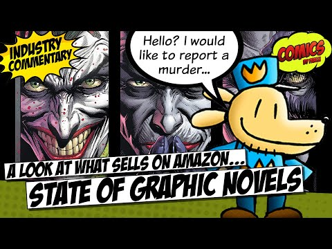 State of comic books and graphic novels on Amazon... who is winning?