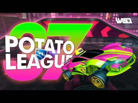 POTATO LEAGUE #37 | Rocket League Funny Moments & Fails