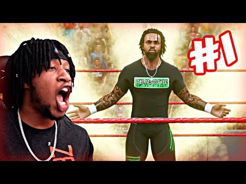 """WWE 2K19 MyCAREER - CREATION OF """"THE PROTOTYPE""""! YOU WON'T BELIEVE WHAT HAPPENED IN MY 1ST MATCH!"""