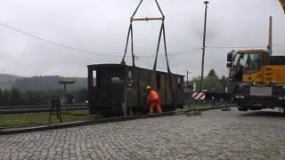 preview picture of video 'Überführung Packwagen 10'