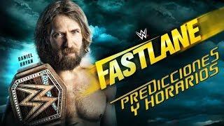 WWE FASTLANE 2019 | PREDICCIONES Y MIS PENSAMIENTOS SOBRE LOS COMBATES! (HORARIO EN LA DESCRIPCIÓN)