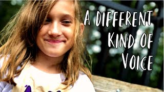 A Different Kind Of Voice - Childhood Apraxia Of Speech