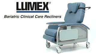 Lumex Bariatric Clinical Care Recliners Long Video
