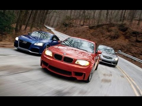 Audi TT RS vs BMW 1-series M vs Infiniti IPL G
