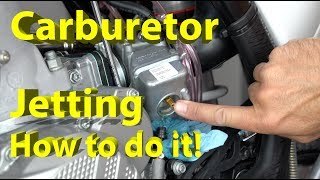 Save $500 and Have a Great Running Dirt Bike | How to Jet Your Carburetor