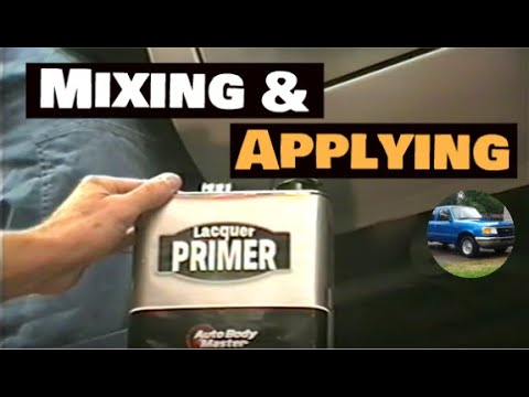 How to Mix, Apply, and Use Lacquer Primer