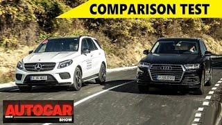 Audi Q7 Vs Mercedes-Benz GLS - Comparison Test   Autocar India