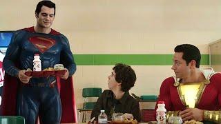 Shazam Justice League Black Adam Easter Eggs and Post Credit Scene Breakdown