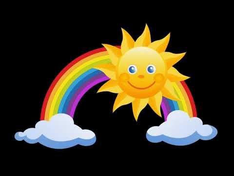 Lied Regenbogen, buntes Licht