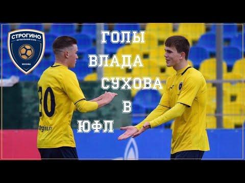 Голы Владислава Сухова в ЮФЛ / Сезон 2019-20 годов