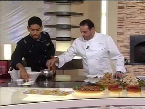 ma osama atyab with chef ali