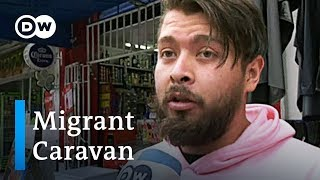 Mexico divided over migrant caravan | DW News