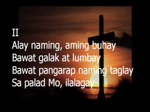 Pagaalay Lyrics  Christian Song Lyrics