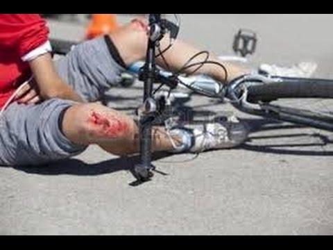 Accident de vélo  (Gopro)